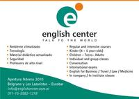 Ingles en Escobar - English Center - Idiomas - Buenos Aires