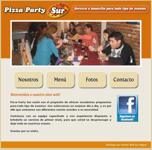 Pizza Party Sur | Servicio de pizza party | At en Lomas de Zamora | Zona Sur  - Servicio de Comidas - Buenos Aires