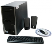 KIT SYNTAX C/ TECLADO, MOUSE CS. SOM, WINDOWS VISTA E CPU