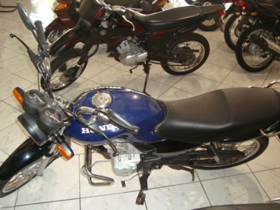 Honda Cg 125 Fan Azul 2005/2005 Gasolina -  - Motos - Caxias do Sul