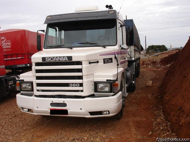 Scania 113 Top Line   Carreta Guerra   Outras Vendas   Santa Catarina