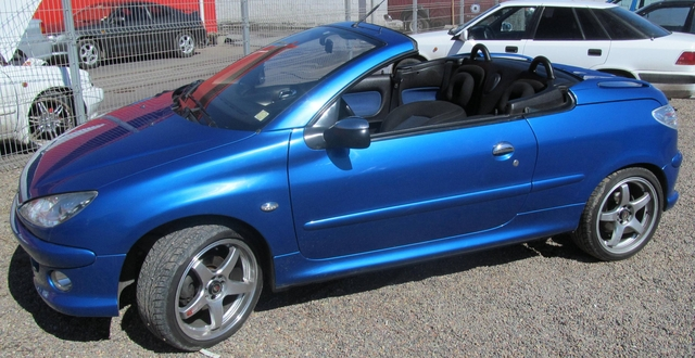 peugeot 206 cc cabriolet a o 2006 automatico autos san vicente de pictures. Black Bedroom Furniture Sets. Home Design Ideas