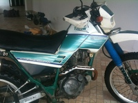Yamaha XT 225 Serow 1996 Verde. 48,000 negociable - Motos / Scooters - Jarabacoa
