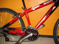 VENDO MOUNTAIN BIKE MARCA SCOTT USA, COMPONENTES SHIMANO ORIGINALES - Bicicletas - Cuautitlan Izcalli