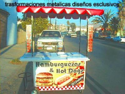 CARROS PARA HOT DOG,S,HAMBURGESAS Y PAPAS FRITAS - Compras en General - Ensenada