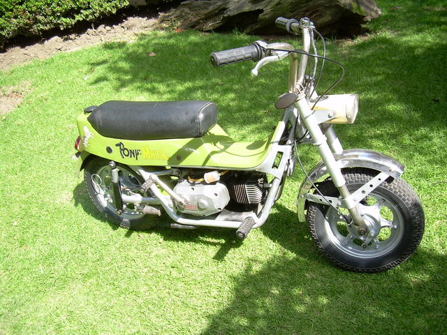 carabela poni matic antigua 1973 - Motos / Scooters - Distrito Federal