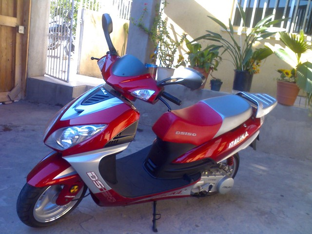moto scooter italika ds150