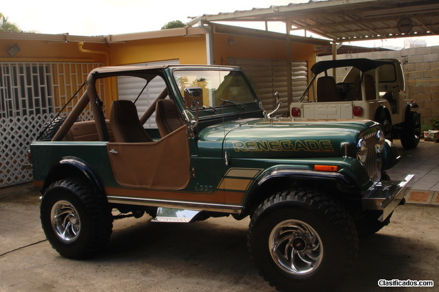 vendo jeep cj-7 1983 - autos en caguas
