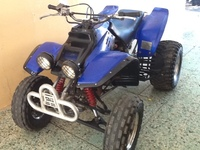 Yamaha Warrior 350 - Motos - Yauco