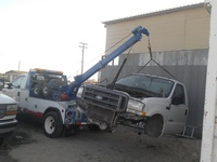 año 2000,camion Grua ,Ford F550 doble rodaje,standard - Camiones / Industriales - Ilobasco