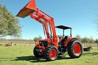 2006 Kubota 95s 4x4 Open Ropes Loader Bucket